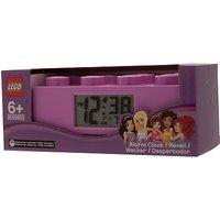 Lego Friends 9009853 Brick Alarm Clock