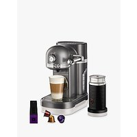 Nespresso Artisan Coffee Machine with Aeroccino by KitchenAid