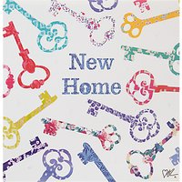 Cardmix Keys New Home Greeting Card