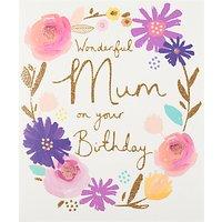 Woodmansterne Wonderful Mum Birthday Card