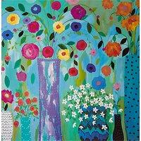Woodmansterne Vases Of Flowers Birthday Card