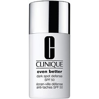 Clinique Dark Spot Defense SPF50 Sheer Tint, 30ml