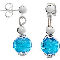Martick Murano Glass Drop Earrings