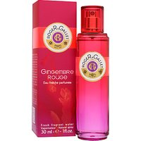 Roger & Gallet Gingembre Rouge Body Spray, 30ml