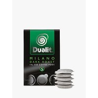 Dualit 15130 Milano Dark Roast Coffee Pods, Pack of 14