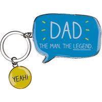 Happy Jackson Dad Keyring