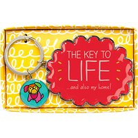 Happy Jackson Key to Life Keyring