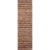 John Lewis and Partners Rustic Jute Stripe Runner Rug