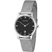 Sekonda Womens Date Mesh Bracelet Strap Watch