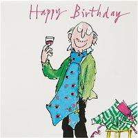 Woodmansterne Man In Giant Tie Birthday Card