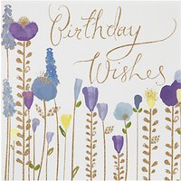 Woodmansterne Flowers Birthday Card