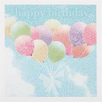 Woodmansterne Vintage Balloons Birthday Card