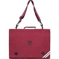Ashfold School Embroidered Document Case, Maroon