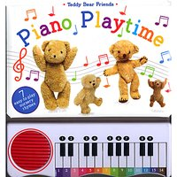 Teddy Bear Friends Piano Playtime Childrens Book