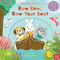 Row, Row, Row Your Boat Sing Along Childrens Book