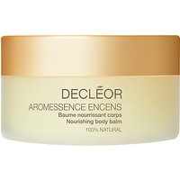 Declor Aromessence Encens Nourishing Body Balm, 125ml