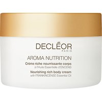 Declor Aroma Nutrition Nourishing Rich Body Cream, 100ml