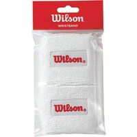 Wilson Tennis Wristband, Pack of 2, White