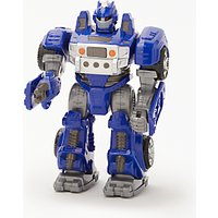 John Lewis Small Robot Toy, Blue