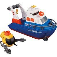 John Lewis Explorer Boat Toy Set