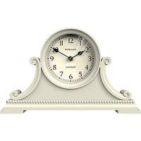 Newgate Gatekeepers Mantel Clock, Cream