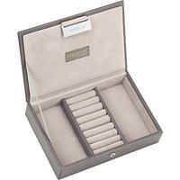 Stackers Mini Jewellery Box Lid, Mink