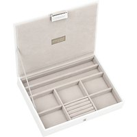 Image of Stackers Jewellery Box Lid, White