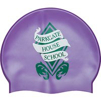 Parkgate House School Unisex Swim Cap, Purple