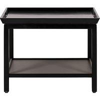 Neptune Aldwych Low Side Table, Warm Black