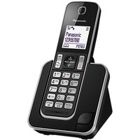 Panasonic KX-TGD310EB Digital Cordless Phone with Nuisance Call Control, Single DECT