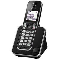 Panasonic KX-TGD310EB Digital Cordless Phone with Nuisance Call Control, Single DECT
