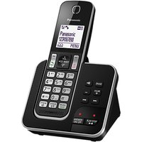 Panasonic KX-TGD320EB Digital Cordless Phone with Nuisance Call Control and Answering Machine, Single DECT