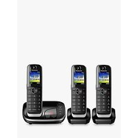 Panasonic KX-TGJ323EB Digital Cordless Phone with Nuisance Call Control and Answering Machine, Trio