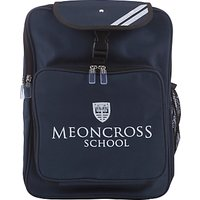 Meoncross School Backpack, Navy