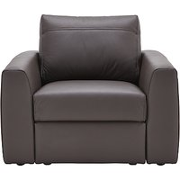 House by John Lewis Finlay II Leather Armchair