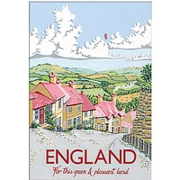 Kelly Hall - England Unframed Print with Mount, 30 x 40cm