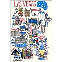 Julia Gash - Las Vegas Unframed Print with Mount, 30 x 40cm