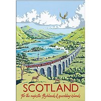 Kelly Hall - Scotland Unframed Print with Mount, 30 x 40cm