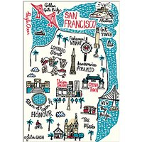 Julia Gash - San Francisco Unframed Print with Mount, 30 x 40cm