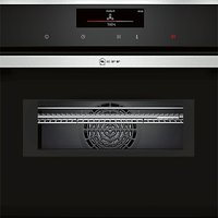 Neff C18MT36N0B Built-In Combination Microwave Oven, Stainless Steel