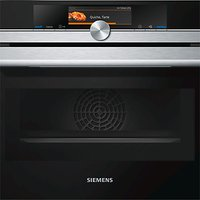 Siemens CM678G4S1B Built-in Combination Microwave Oven, Stainless Steel