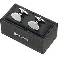 John Lewis Best Man Cufflinks, Silver