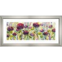 Catherine Stephenson - Hydrangea Burst, 55 x 110cm