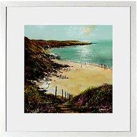 Anthony Waller - White Sand Bay, 48 x 48cm