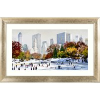 Richard Macneil - Skating In New York, 72 x 112cm