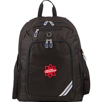 East London Science School Backpack, Black