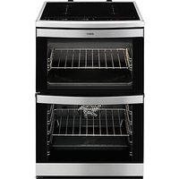 AEG 49176IW-MN Electric Cooker, Stainless Steel