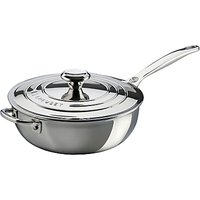 Le Creuset Signature 3-Ply Stainless Steel Non-Stick 24cm Chefs Pan