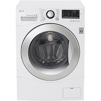 LG FH4A8TDN2 Freestanding Washing Machine, 8kg Load, A+++ Energy Rating, White