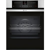 Neff B25CR22N1B EasyClean Pyrolytic Single Electric Oven, Stainless Steel